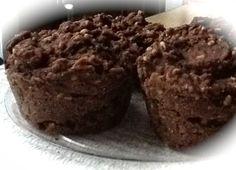 Pink-Vegan: Daniel Fast Chocolate Spice Steel Cut Oat Muffins (DF, GF)