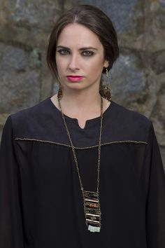 De mi creación!! blusa de gasa y gamuza mas accesorios  Constanza Ferrer Diseño.