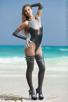 Young bisexual lady loves tight wet swimsuits and wants to share with similar Latex Wear, Sexy Latex, Nylons, Vinyl Leggings, Bodysuit, Fembois, Jeans, Latex Fashion, Gothic Beauty