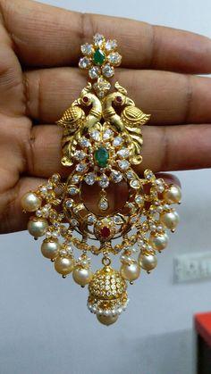 Gold Jhumka Earrings, Gold Bridal Earrings, Gold Wedding Jewelry, Bridal Jewellery, Ring Earrings, Gold Jewellery, Jewelery, Diamond Earrings, Gold Necklace
