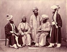 Destination Pakistan Flashback Friday Natives of Peshawar ~ 1890 Image by Samuel Bourne