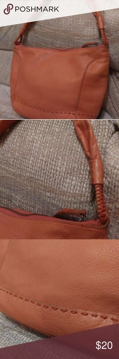 1457b434df The Sak purse And this combo you will receive one large Sak purse this bag  is a orange fish red color with and detail stitching and a rope like handle  ...