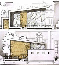 Unbelievable Modern Architecture Designs – My Life Spot Architecture Building Design, Concept Architecture, Contemporary Architecture, Landscape Architecture, Interior Architecture, Landscape Design, Architecture Panel, Contemporary Design, Planer Layout