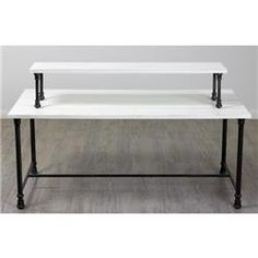Table Riser in White    AcmeDisplay.com  Wholesale