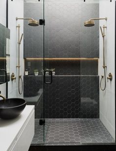 Either you have a small bathroom or master bathroom. This guide will help you to renovate them efficiently. It is all about Renovating a Bathroom Ideas. Bad Inspiration, Bathroom Inspiration, Bathroom Ideas, Modern Bathroom Design, Bathroom Interior Design, Design Bedroom, Design Kitchen, Bathroom Designs, Kitchen Ideas