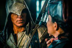 Scary-good Assassin's Creed III cosplay!
