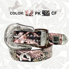 Montana West Camouflage Double Guns Belt | Country Bling