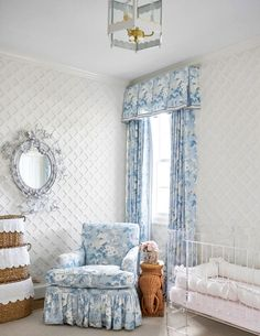 frilly nursery decor, girl bedroom decor, Interior Designer Amy Berry On: Top 5 Table-Setting Tips | Tory Daily
