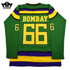 Available to purchase!: Gordon Bombay Mig... Check it out here!!! http://jerseychamps.com/products/gordon-bombay-mighty-ducks-ice-hockey-jersey?utm_campaign=social_autopilot&utm_source=pin&utm_medium=pin