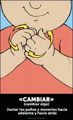 Loesencial para que puedas comunicarte con tubebé. Sign Language Words, Sign Language For Kids, Sign Language Alphabet, Learn Sign Language, Baby Singing, Asl Signs, World Languages, Teacher Hacks, Idioms