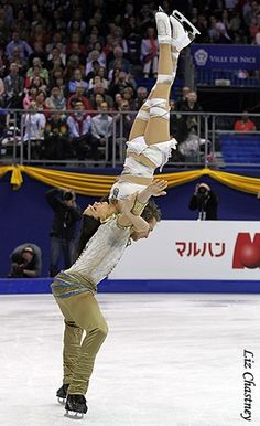 Dancing on Ice  -  Nathalie Péchalat & Fabian Bourzat (FRA)