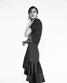 Frilled Midi Skirt | Zara