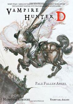 Vampire Hunter D, Vol. 1 by Hideyuki Kikuchi, http://www.amazon.com/dp/1595820124/ref=cm_sw_r_pi_dp_TmkYqb1SSQXG9