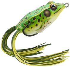 Booyah Pad Crasher Jr Topwater Bass Fishing Frog Swamp or Shad Frog Choice