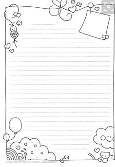 Free note paper to print . - Do it yourself - # express # . - Free note paper to print … – Do it yourself – - Printable Paper, Stationary Printable, Note Paper, Lettering, Writing Paper, Bullet Journal Inspiration, Smash Book, Free Printables, Coloring Pages