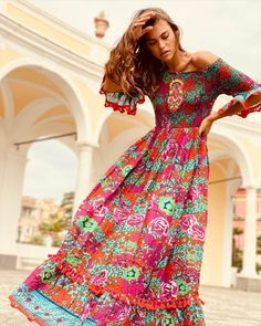 Ibiza Fashion, Dresses With Sleeves, Boho, Long Sleeve, Style, Swag, Sleeve Dresses, Long Dress Patterns, Gowns With Sleeves