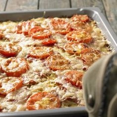 Kartoffelpizza vom Blech | BRIGITTE.de