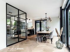 Pivot Doors, Scandinavian Interior, My Room, Interior Inspiration, New Homes, Iron, Modern, Kitchen, House