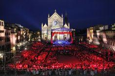 La piazza incantata: 500 musicisti in concerto a Santa Croce