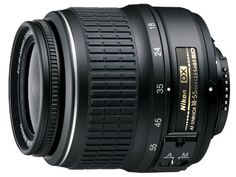 Nikon AF-S DX NIKKOR 18-55mm f/3.5-5.6G ED II Zoom Lens with Auto Focus for Nikon DSLR Cameras, 2016 Amazon Top Rated Lenses  #Photography