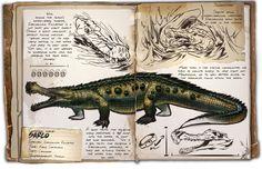 Ark: Survival Evolved Dossiers: Sarco by Dinosuarjosh.deviantart.com on @DeviantArt