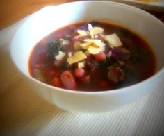 Springtime Soup Full of yummy seasonal ingredients and a good dose of goodness! www.coconutfitness.com