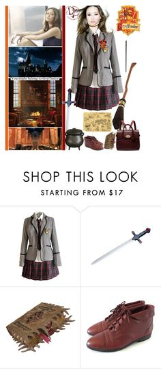 """Gryffindor - River Notthingale"" by fashionqueen76 ❤ liked on Polyvore featuring Paul Frank, S.W.O.R.D. and Mulberry"