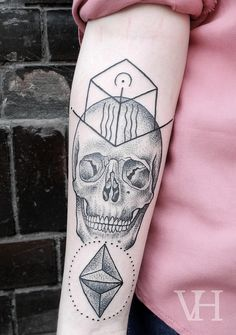 Would never get this tat but love the dot work! by Valentin Hirsch