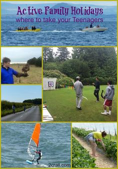 active fife teenagers - ideas for family holidays including lots to keep the teenagers in the family active.