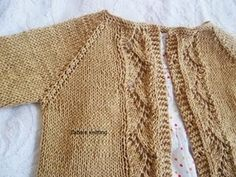 So many delicate free patterns! Vine Lace Cardigan