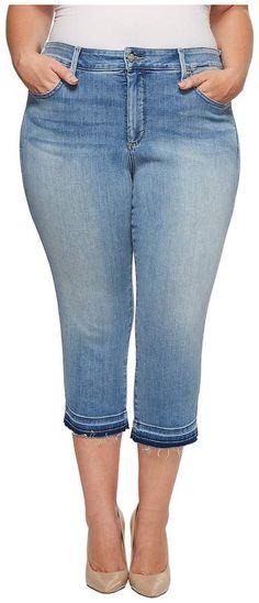 1222b6ee1c243 NYDJ Plus Size - Plus Size Capris w  Released Hem in Dreamstate Women s  Jeans Women s
