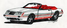 1984 Ford Mustang 20th Anniversary GT-350