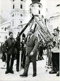 Wahlkampf 1970 in Oberösterreich: Kreisky besucht Spital/Pyhrn. Mehr zur Ära Kreisky: https://www.nachrichten.at/nachrichten/150jahre/ooenachrichten/Eine-neue-Aera-beginnt;art171762,1668486 (Bild: APA)