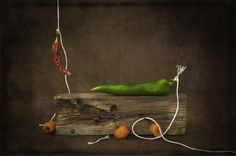 Still Life With Peppers   Flickr - Photo Sharing!