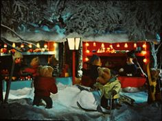 stereomat_slides_08 (iiyyyii) Tags: christmas winter snow film bears lantern slides vintagetoy vintageslides stereomat
