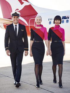 Southwest Airlines Flight Attendant, Delta Flight Attendant, Airline Attendant, Pilot Uniform, American Airlines Uniforms, Airline Uniforms, Qantas Airlines, Pacific Airlines, Vestidos