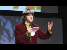 "TEDxVancouver - Nardwuar - unconventional interviewer, who is adamant that you ""JUST ASK"" to get more opportunities for yourself.  His wackdoodle interviews are really more performance art"
