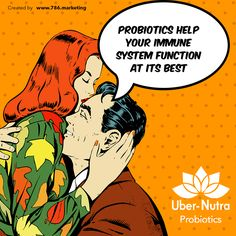 Probiotics help your immune system function at its best so it can detect and kill cancer cells. ‪#Probiotics #UberNutra #Life #Healthy #Supplements #Nutrition #Vitamins #Lifestyle
