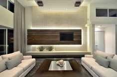 Modern Family Room Design Ideas, Pictures, Remodel and Decor
