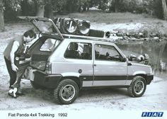 Fiat Panda 4x4 Presse Foto