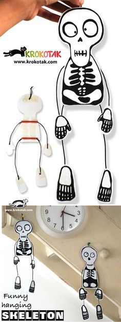 funny hanging skeleton for your halloween party