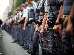 Datafolha aponta que 62% dos moradores de cidades com mais de 100 mil habitantes têm medo de sofrer agressão da Polícia Militar.