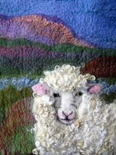 World Of Wool Gallery of Customers Wool Craft Work 2019 World Of Wool Gallery of Customers Wool Craft Work The post World Of Wool Gallery of Customers Wool Craft Work 2019 appeared first on Wool Diy. Sheep Crafts, Felt Crafts, Landscape Art Quilts, Sheep Art, Felt Pictures, Needle Felting Tutorials, Rug Hooking Patterns, Textile Fiber Art, Wool Art