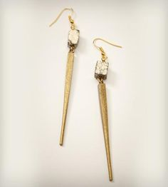 Iza Earrings by Salty Fox Jewelry on Scoutmob Shoppe