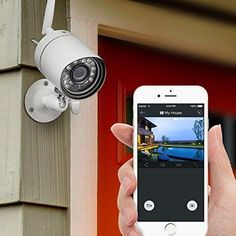 Wireless Outdoor Home Security Video Camera Surveillance System 4 Pack Safety