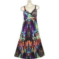 9363ca6e8bf Blue Paradise Maxi Dress ($42) ❤ liked on Polyvore Long A Line Skirt,