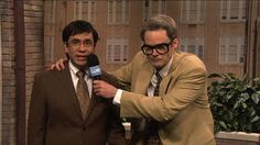 SNL Herb Welch reports on carbon monoxide school leak with Justin Timberlake. Bill Hader. 2011.