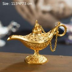 Merci Boutique, Genie Lamp, Aladdin Lamp, Desktop Decor, Gifts For Art Lovers, Trendy Home Decor, Thing 1, Diy Party Decorations, Decor Crafts