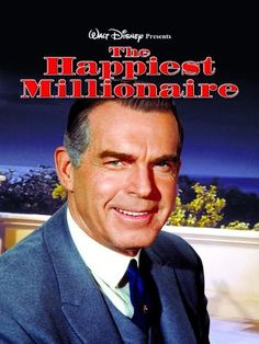 The Happiest Millionaire starring Fred MacMurray, Tommy Steele. A young immigrant from Ireland finds a position as a butler in the home of an eccentric, but lovable, Philadelphia millionaire. Amazon Affiliate Link.