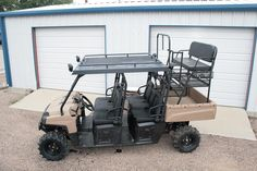 hunting with a polaris ranger 6x6 - Google Search